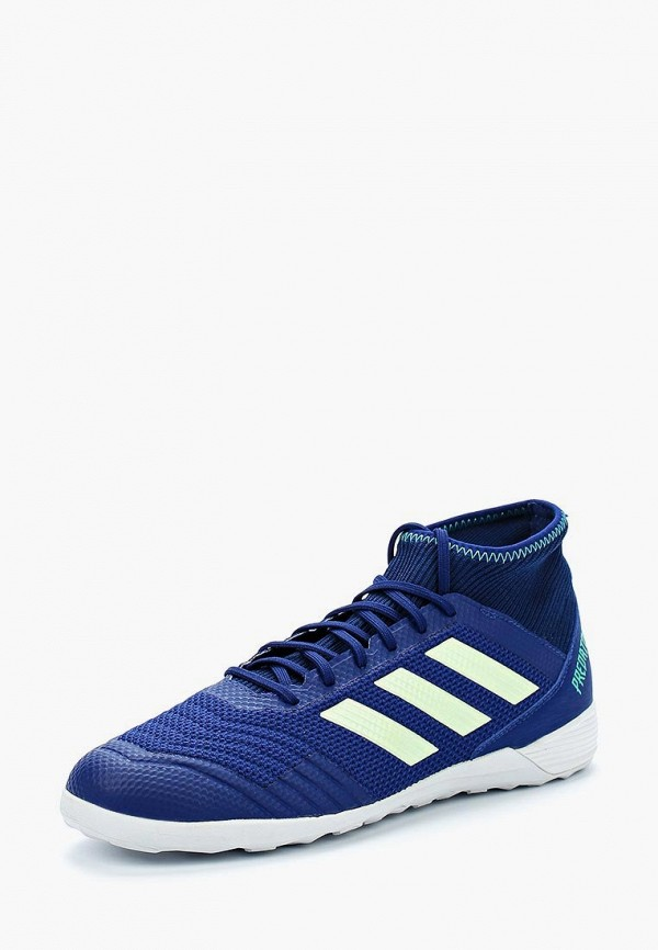 Купить Бутсы зальные adidas, adidas AD002AMALVM1, синий, Весна-лето 2018