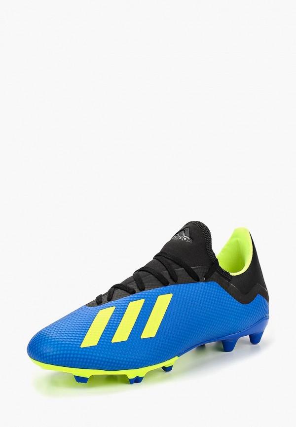 Купить Бутсы adidas, adidas AD002AMCDIX1, синий, Осень-зима 2018/2019