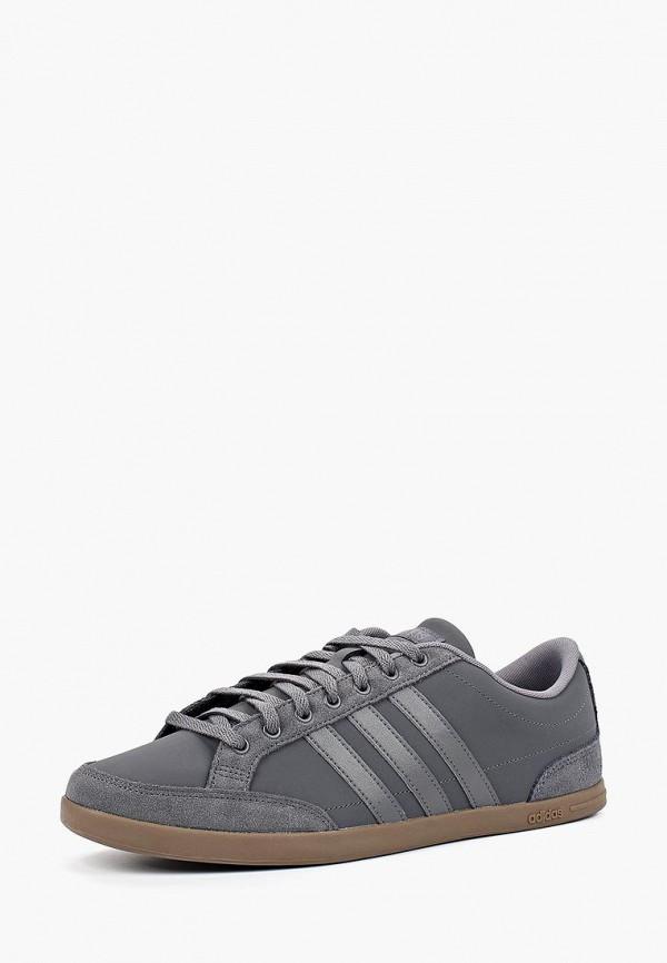 Фото - Кеды adidas серого цвета