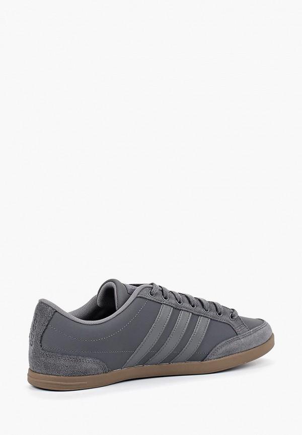 Фото 2 - Кеды adidas серого цвета