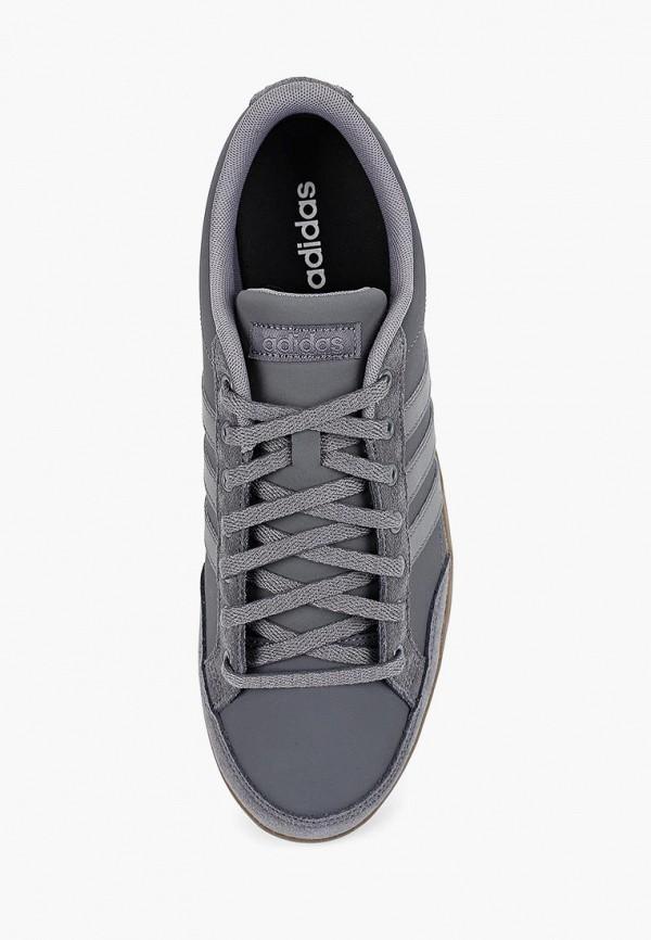 Фото 4 - Кеды adidas серого цвета