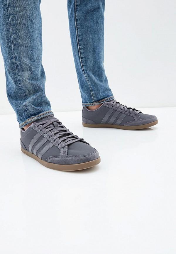 Фото 5 - Кеды adidas серого цвета