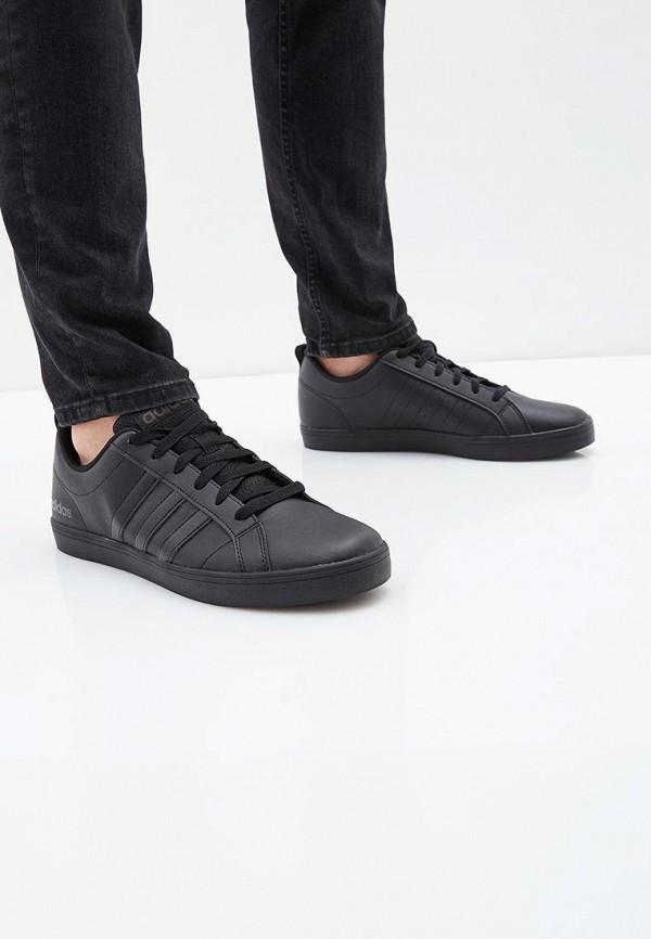 Фото 5 - Кеды adidas черного цвета