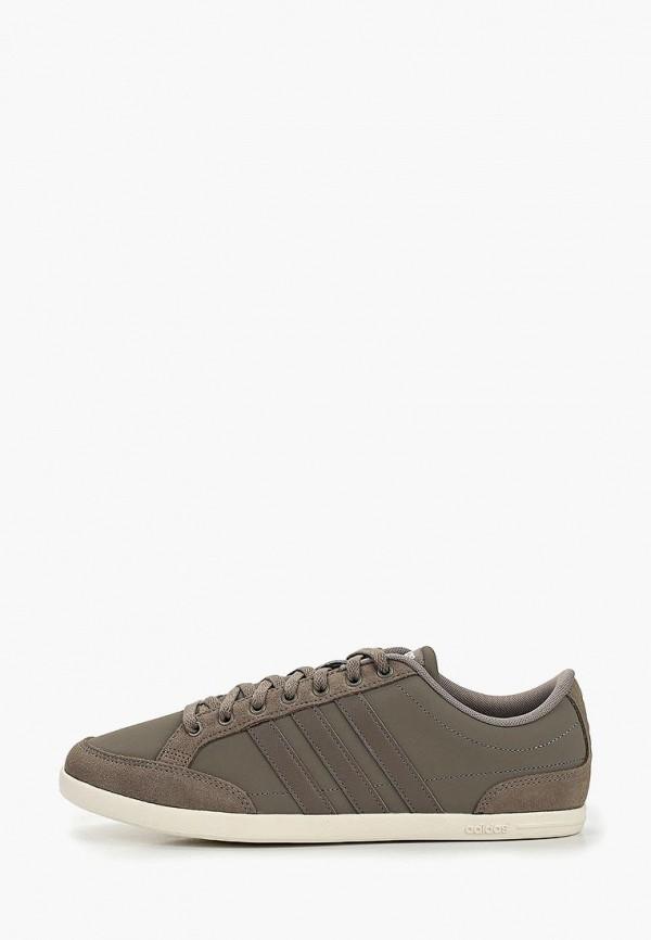 мужские кеды adidas, коричневые