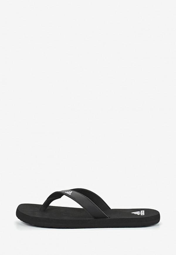 Купить Сланцы adidas черного цвета