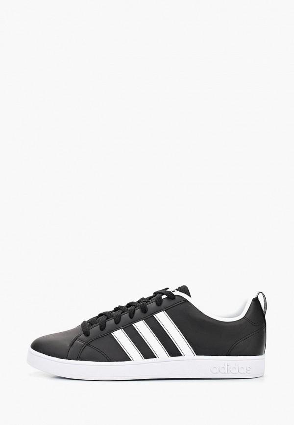мужские кеды adidas, черные