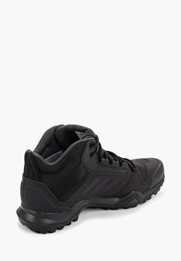 Фото 3 - Ботинки трекинговые adidas черного цвета