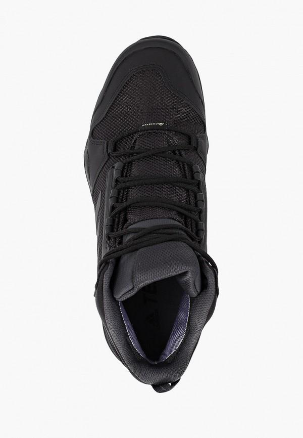 Фото 4 - Ботинки трекинговые adidas черного цвета