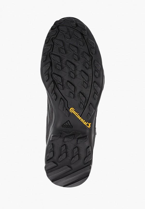 Фото 5 - Ботинки трекинговые adidas черного цвета