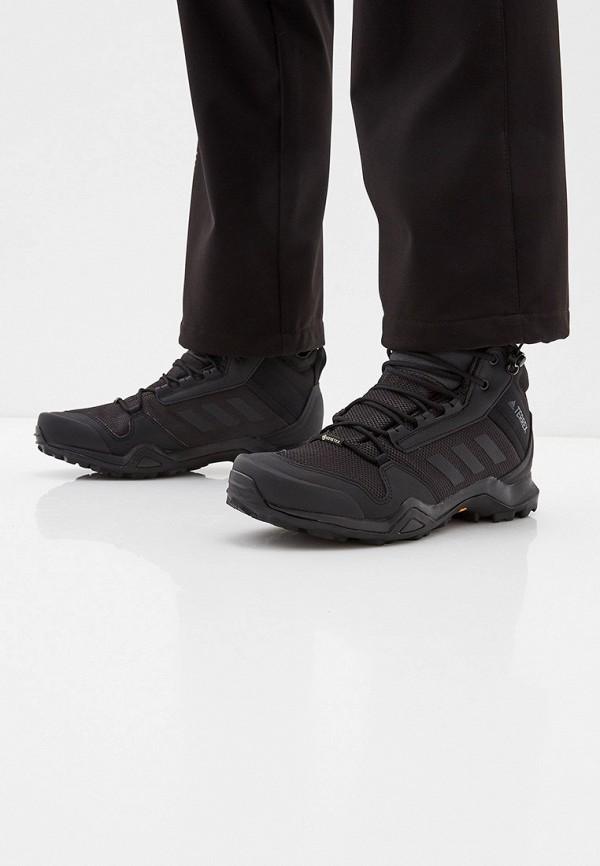 Фото 6 - Ботинки трекинговые adidas черного цвета