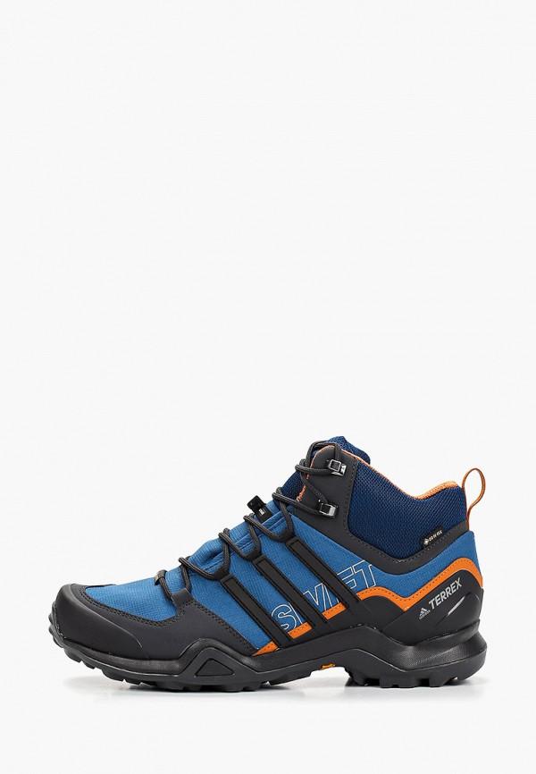 мужские ботинки adidas, синие