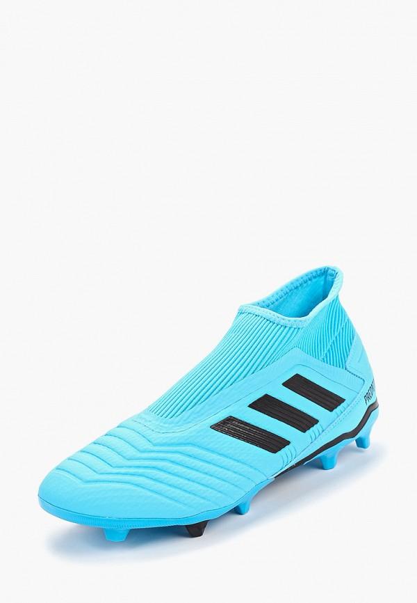 Фото 2 - Бутсы adidas бордового цвета