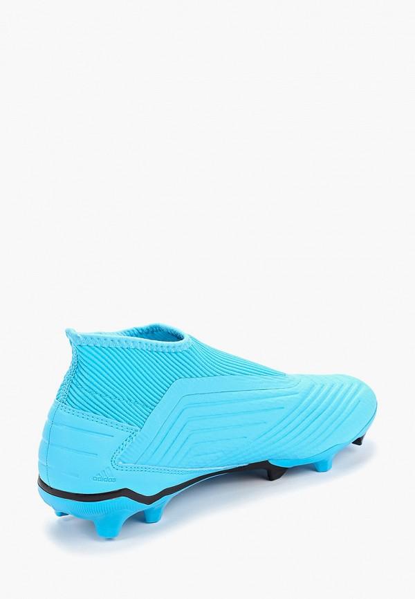 Фото 3 - Бутсы adidas бордового цвета
