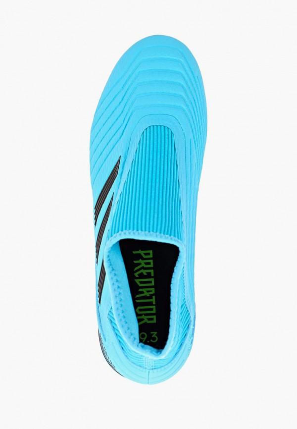 Фото 4 - Бутсы adidas бордового цвета