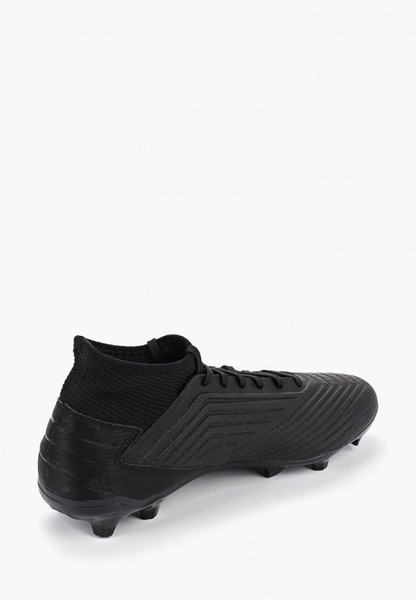 Фото 3 - Бутсы adidas черного цвета