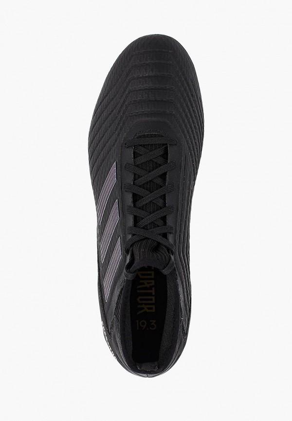 Фото 4 - Бутсы adidas черного цвета
