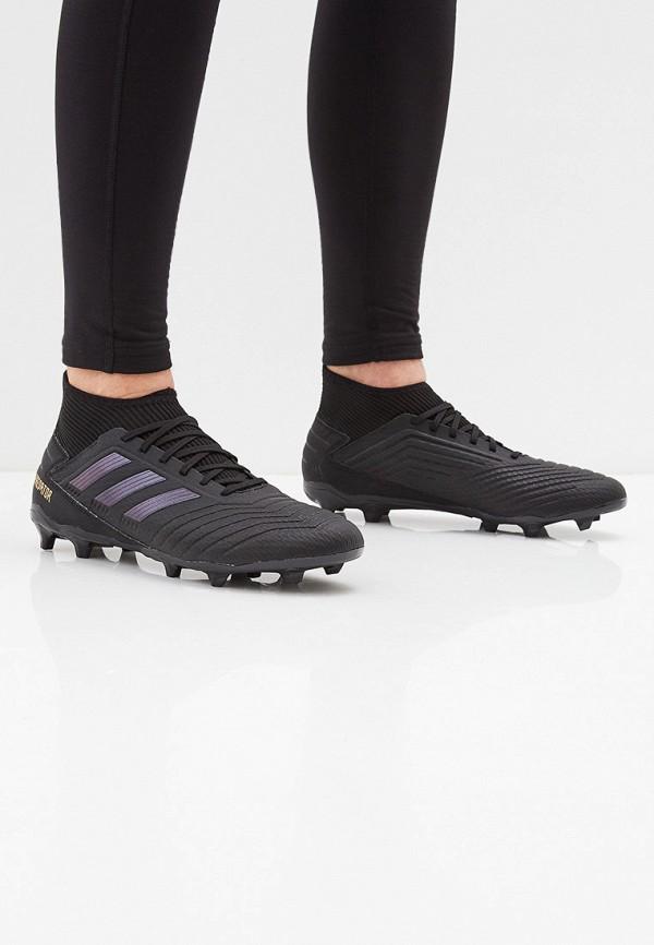 Фото 6 - Бутсы adidas черного цвета