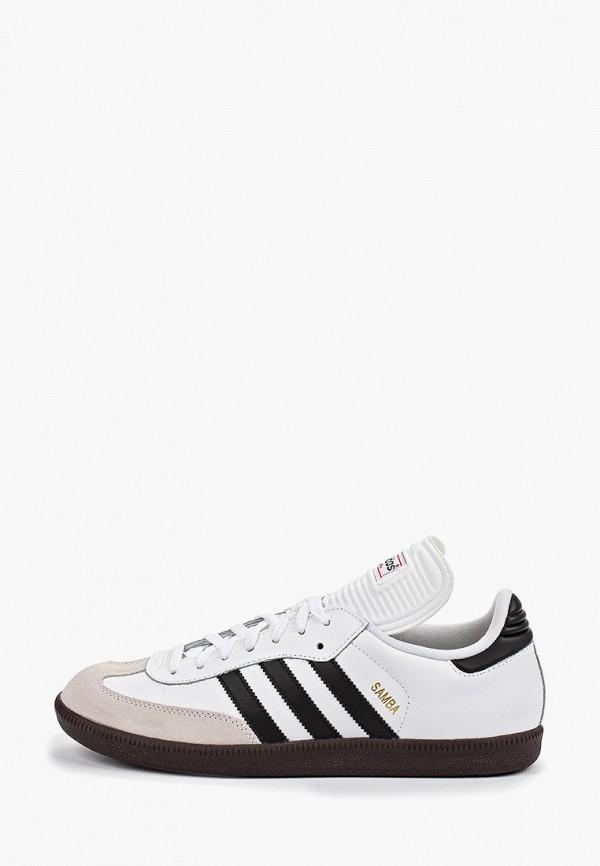 мужские бутсы adidas, белые