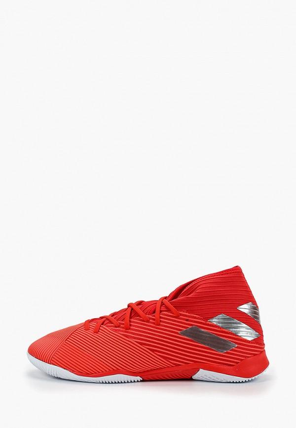 Фото - Бутсы зальные adidas красного цвета