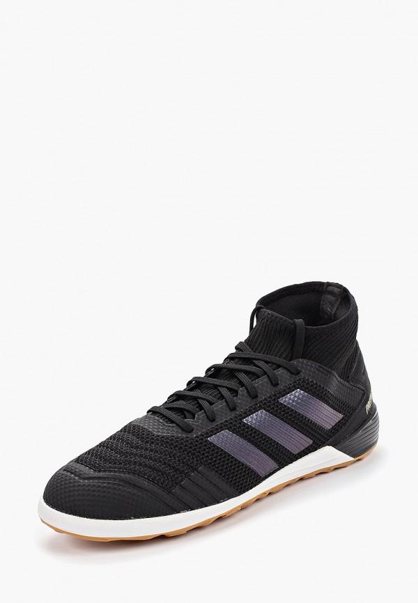 Фото 2 - Бутсы зальные adidas черного цвета
