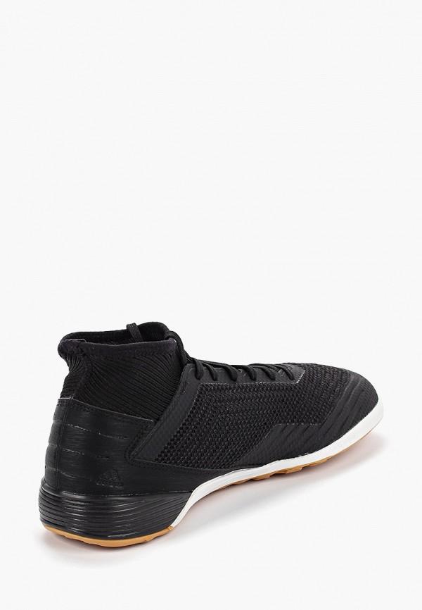 Фото 3 - Бутсы зальные adidas черного цвета