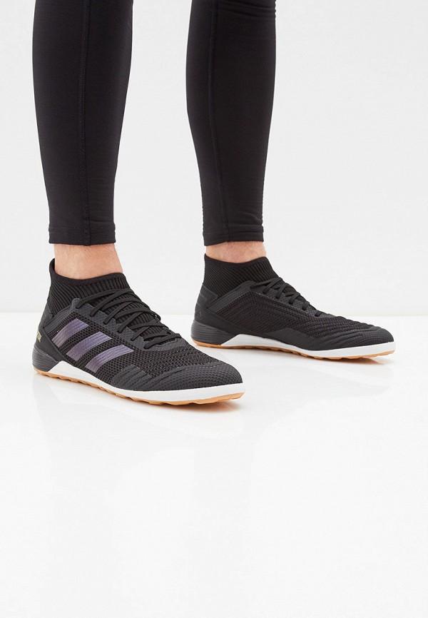 Фото 6 - Бутсы зальные adidas черного цвета