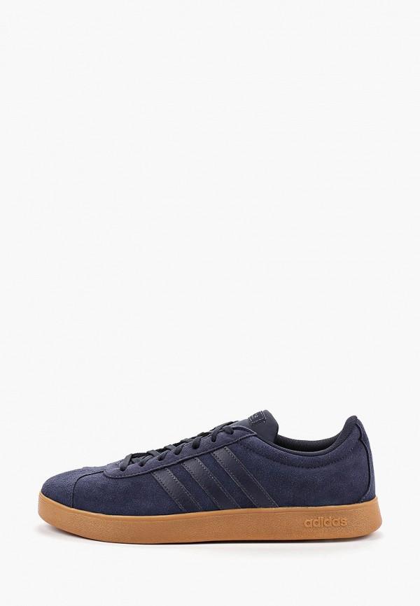 Купить Кеды adidas синего цвета