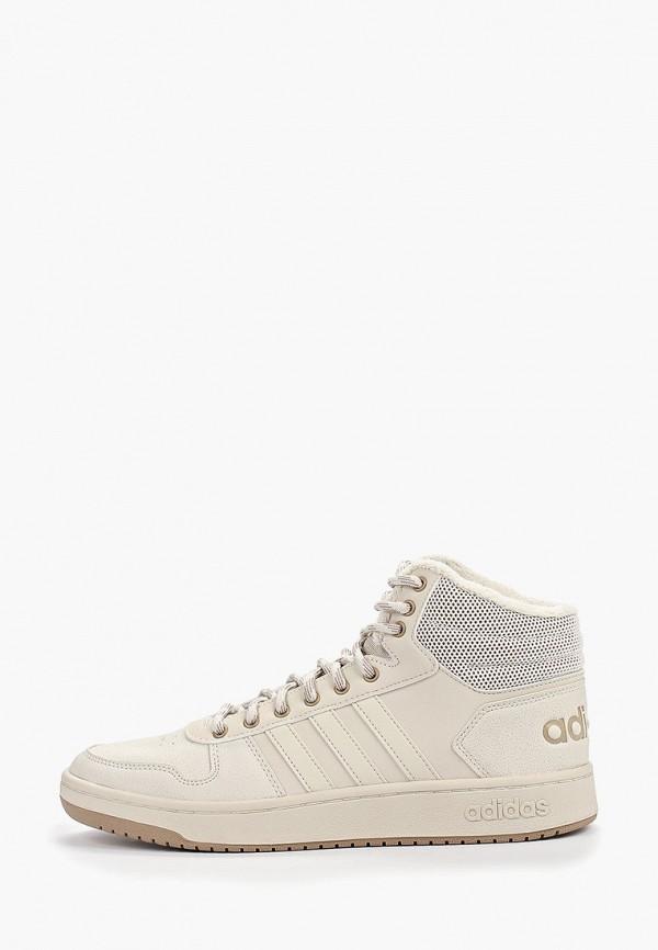 мужские кеды adidas, бежевые