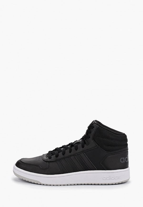 Фото - мужские кеды adidas черного цвета