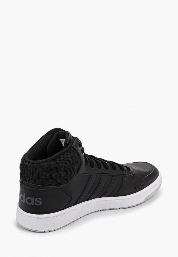 Фото 3 - мужские кеды adidas черного цвета