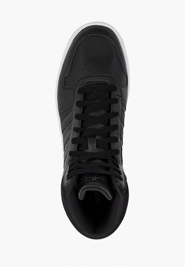 Фото 4 - мужские кеды adidas черного цвета