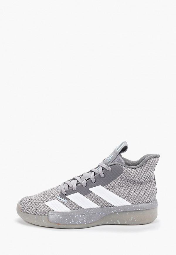 Фото - мужские кроссовки adidas серого цвета