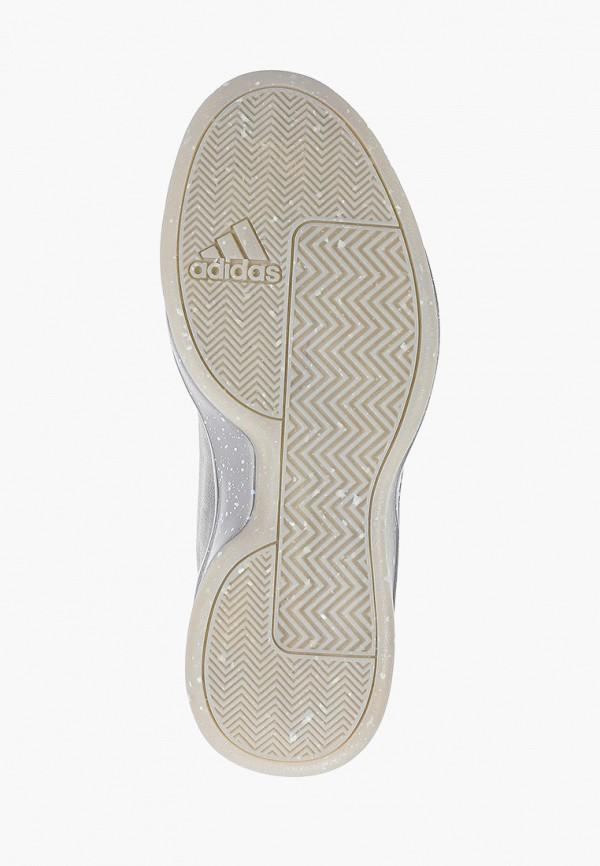 Фото 5 - мужские кроссовки adidas серого цвета