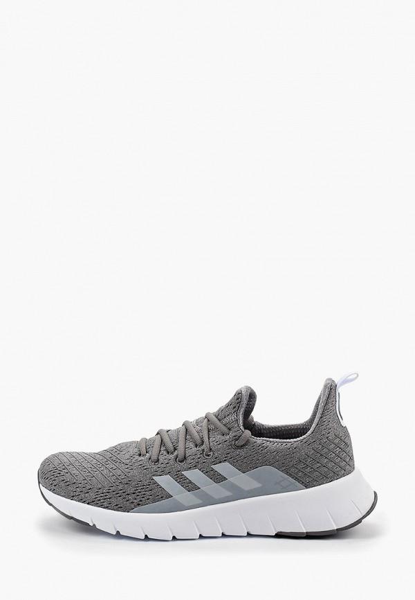 Купить Кроссовки adidas серого цвета