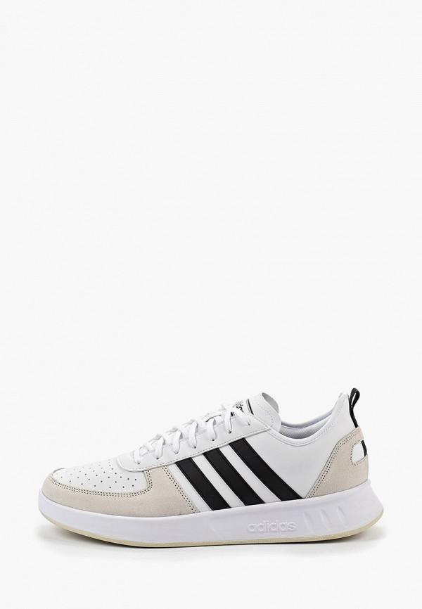 Купить Кроссовки adidas белого цвета