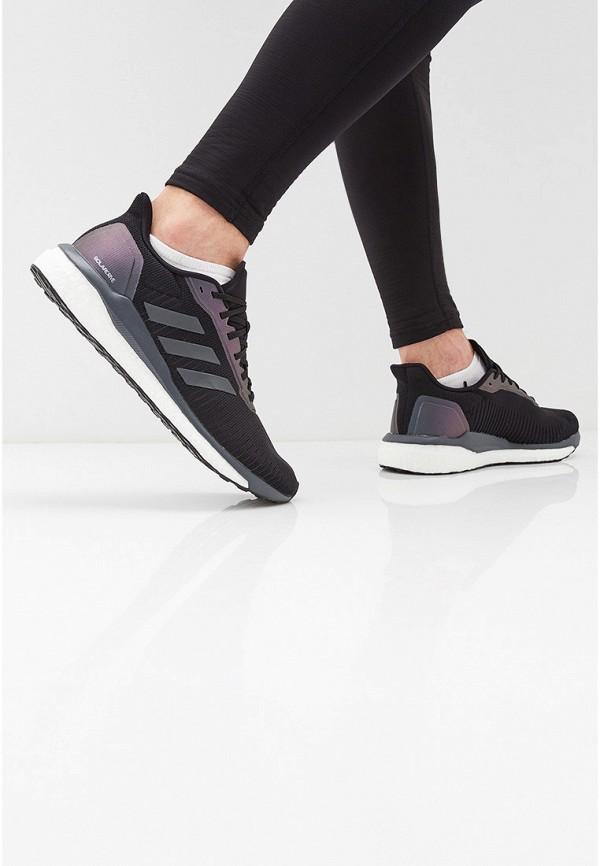 Фото 6 - мужские кроссовки adidas черного цвета