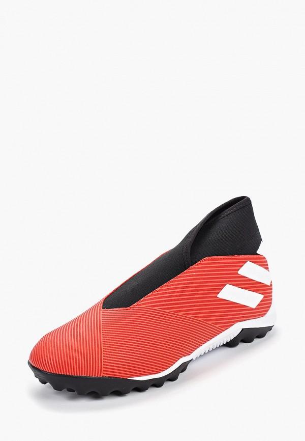 Фото 2 - Шиповки adidas красного цвета