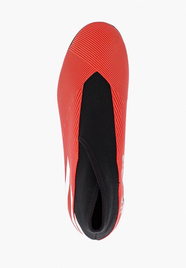 Фото 4 - Шиповки adidas красного цвета