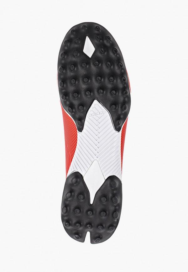 Фото 5 - Шиповки adidas красного цвета