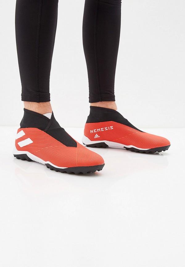 Фото 6 - Шиповки adidas красного цвета