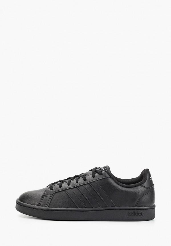 мужские низкие кеды adidas, черные