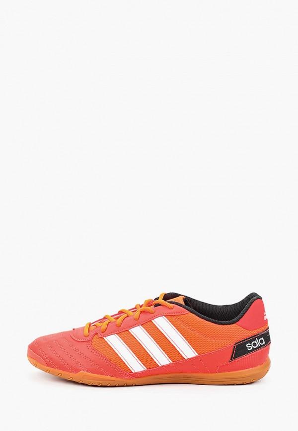 мужские бутсы adidas, оранжевые