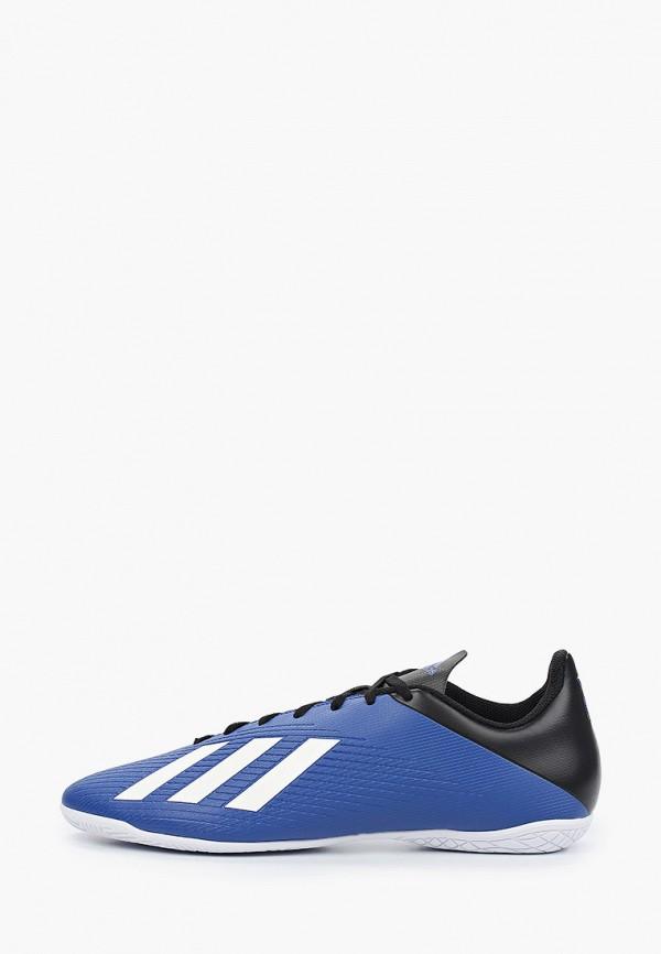 мужские бутсы adidas, синие