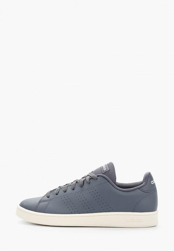 мужские кеды adidas, серые