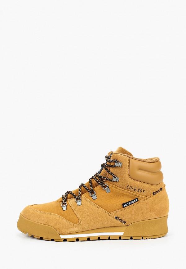 мужские ботинки adidas, желтые