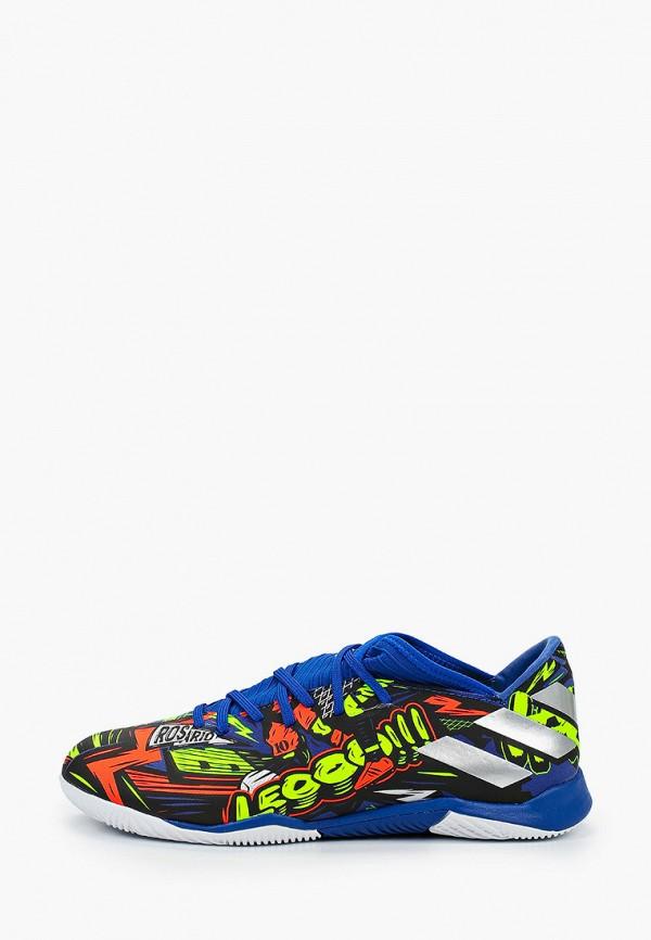 мужские бутсы adidas, разноцветные