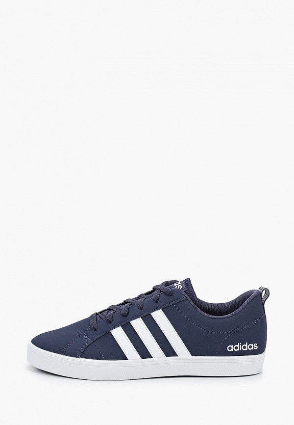 мужские низкие кеды adidas, синие