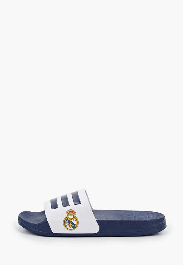 мужские сланцы adidas, синие