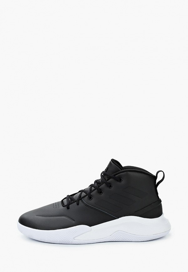 мужские высокие кроссовки adidas, черные