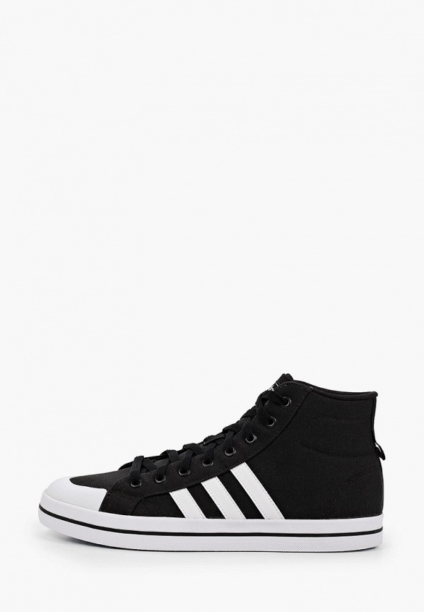 мужские высокие кеды adidas, черные